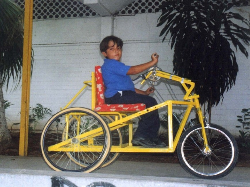 hand-powered tricycle