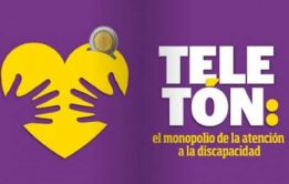fundraising logo of Teletón