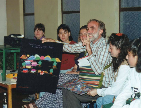 David Werner meeting with EPES in Chile in the mid-1990s