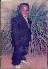 Yaw Werner as young boy