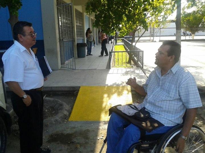 Rigo Delgado, disability activist