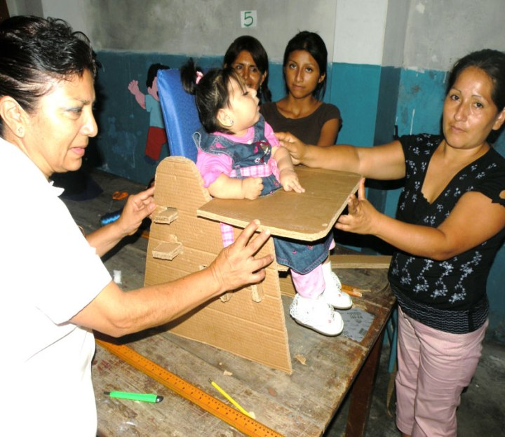 cardboard assistive-technology Peru